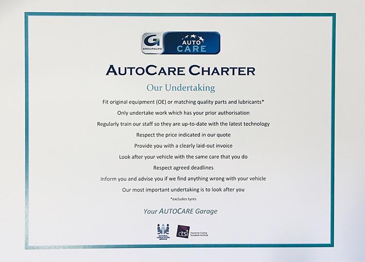 AutoCare Charter Ewood MOT and Service