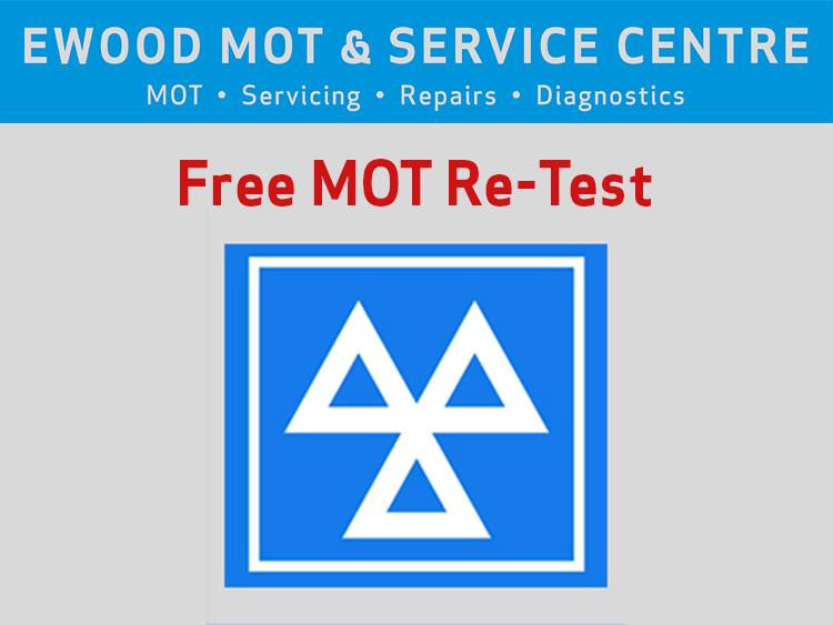 Free MOT Re-test
