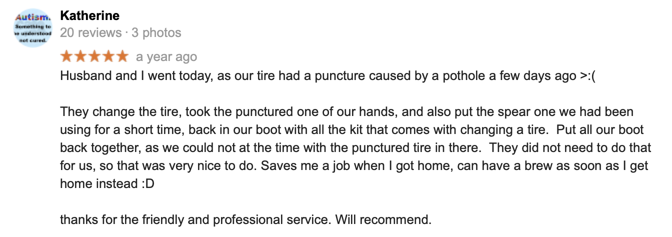 Tyres near Egremont | Reviews Yell