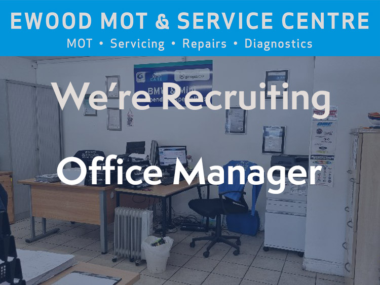We're Recruiting - Office Manager